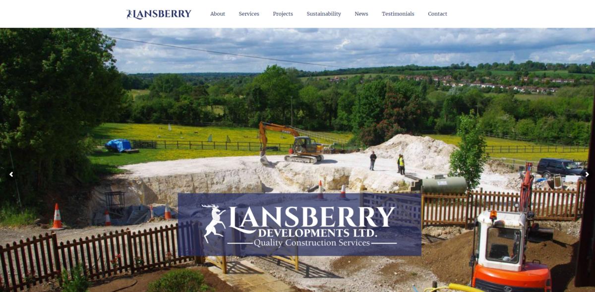 Lansberry-Website