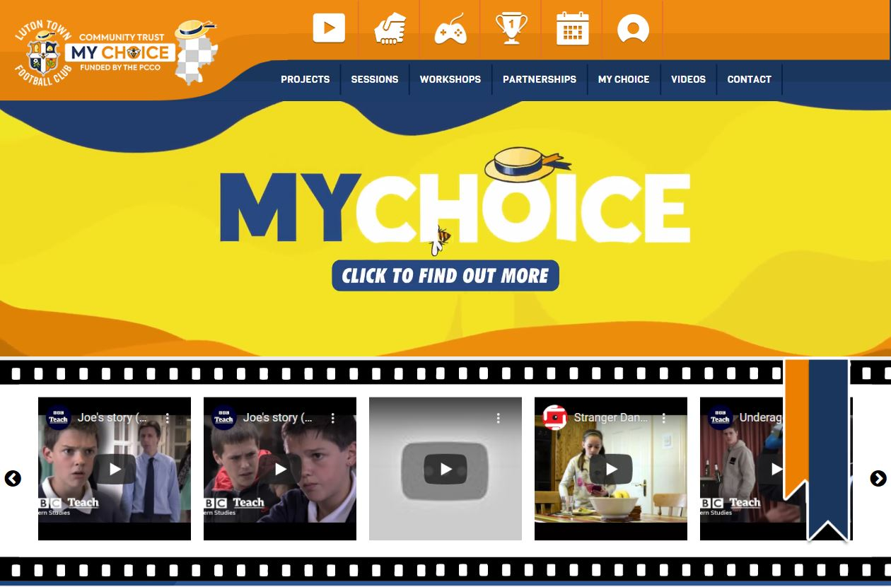 LTFC-My-Choice-Website